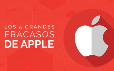 Los cinco grandes fracasos de Apple